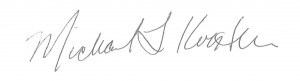 2.01-1 Welcome Letter Signature Black